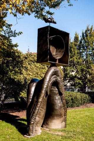 J Miro in National Sculpture Garden, Washington DC
