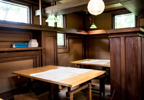 Frank Lloyd Wright home & studio, Oak Park, Chicago