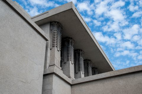 Unity Temple, Oak Park, Chicago by Frank Lloyd Wright