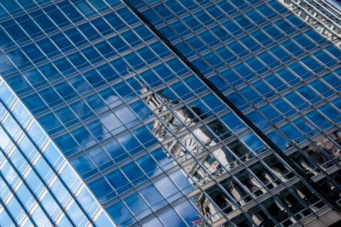 Wrigley Building reflection, Chicago