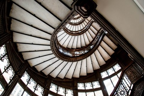 The Rookery Light Court by F L Wright (1905)