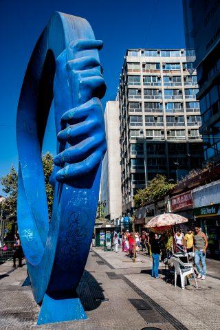 Street art, Santiago, Chile
