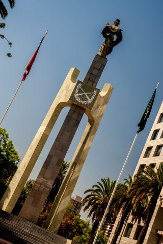 Monument to Martyr Carabineros, Santiago, Chile