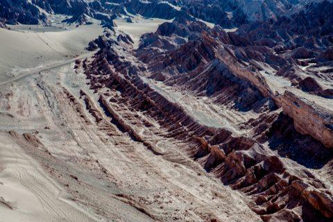 Dunes near San Pedro de Atacama, Chile