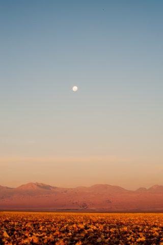 Salar de Atacama sunset, Chile