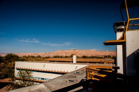 Andes from San Pedro de Atacama hotel, Chile