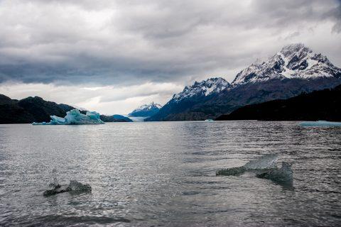 Icebergs, Glacier Grey & Lago Grey, Torres del Paine National Pa
