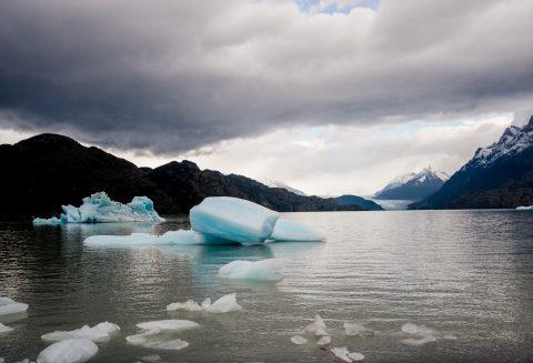 Glacier Grey & Lago Grey, Torres del Paine National Park, Chile