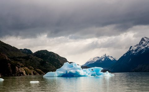 Iceberg, Lago Grey, Torres del Paine National Park, Chile