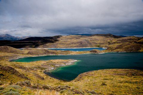 Lago Sarmiento de Gamboa, Torres del Paine National Park, Chile