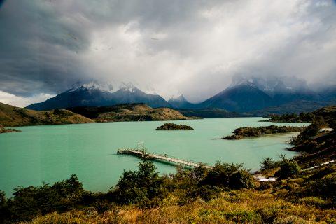 Lago Pehoe, Torres del Paine National Park, Chile