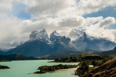 Los Cuernos & Lago Pehoe, Torres del Paine National Park, Chile