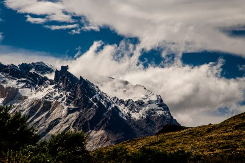 Los Cuernos, Torres del Paine National Park, Chile