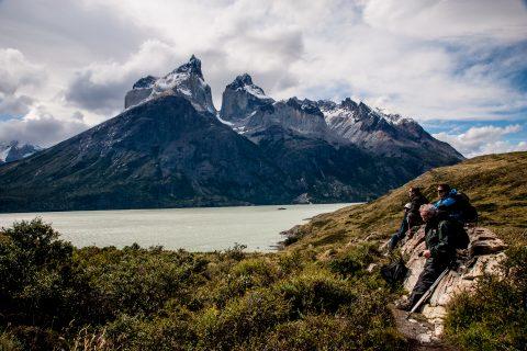 Los Cuernos, & Lago Nordenskjold, Torres del Paine National Park