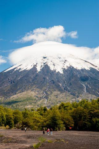 Volcan Osorno, Petrohue, Chile