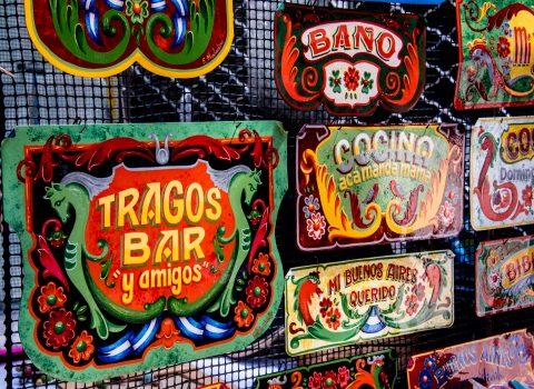 Signs, Buenos Airres, Argentina