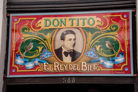 San Telmo area bar, Buenos Aires, Argentina