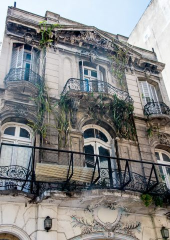 Old mansion, Buenos Aires, Argentina
