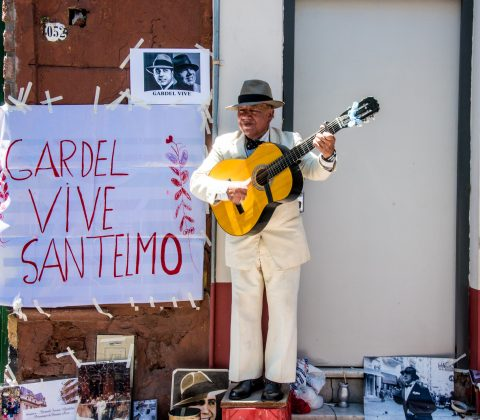 Homage to Gardel, Buenos Aires, Argentina