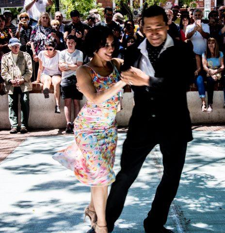 Tango on Sunday, Plaza Dorrego, Buenos Aires, Argentina