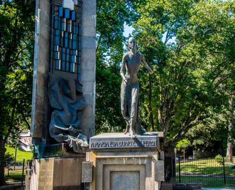 Evita monument, Buenos Aires, Argentina