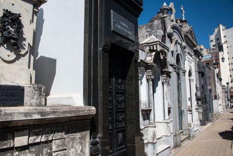 Tombs  Cementerio de la Recoleta, Buenos Aires, Argentina