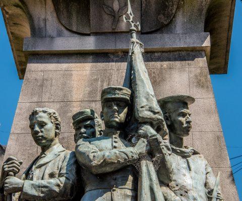 Central memorial,  Cementerio de la Recoleta, Buenos Aires, Arge