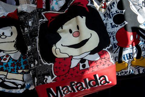Stall in El Caminito, La Boca, Buenos Aires,