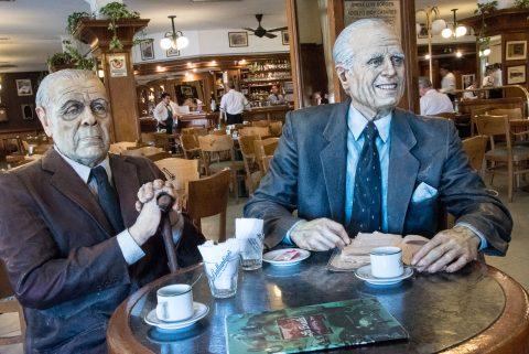 Cafe La Biela, Buenos Aires, Argentina - Casares & Borges