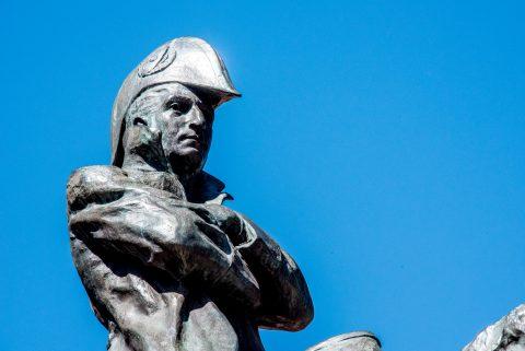 San MArtin, Cerro de la Gloira monument, Mendoza, Argentina