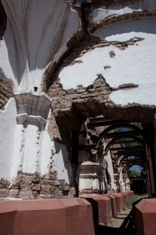 Templo do San Francisco ruins, Mendoza, Argentina