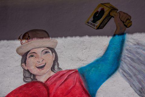 House decoration Humahuaca, Argentina