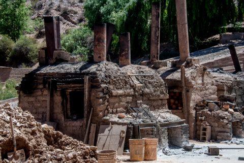Pottery kilns,  Humahuaca Gorge, Argentina