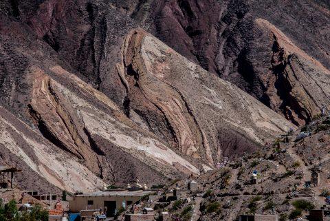 Maimara Painter's Palette, Humahuaca Gorge, Argentina,