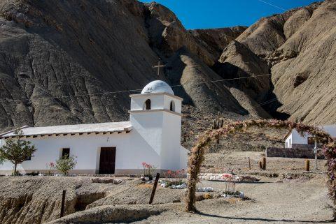 Church, La  Cienaga near Purmamarca, Argentina
