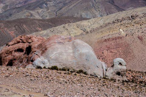 Tortoise rock, Altiplano, Argentina