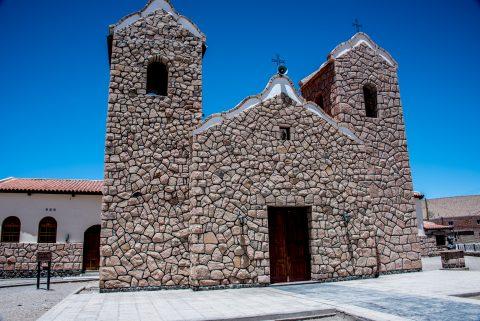 San Antonio de los Cobres  church, Altiplano, Argentina