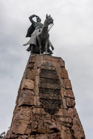 Martin Miguel de Guemes memorial, Salta, Argentina