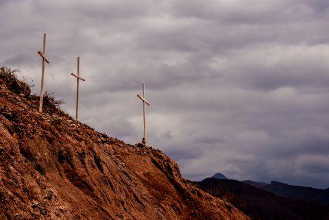 Tres Cruces Mirador, Quebrada de las Conchas, Argentina