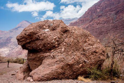 El Sapo (the Toad), Quebrada de las Conchas, Argentina