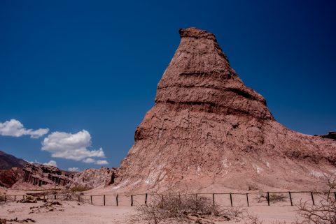El Obelisco, Quebrada de las Conchas, Argentina