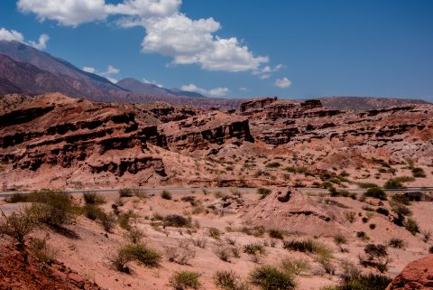 Quebrada de las Conchas , Cafayate, Argentina