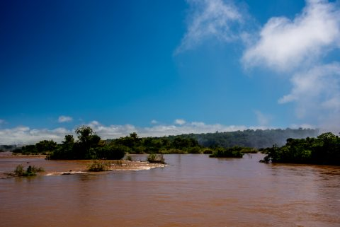Iguazu  river, Argentina