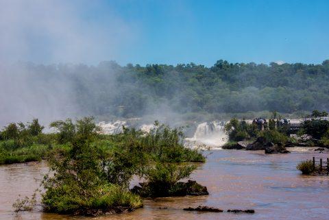 Garganta del Diablo  from catwalk, Iguazu Falls, Argentina
