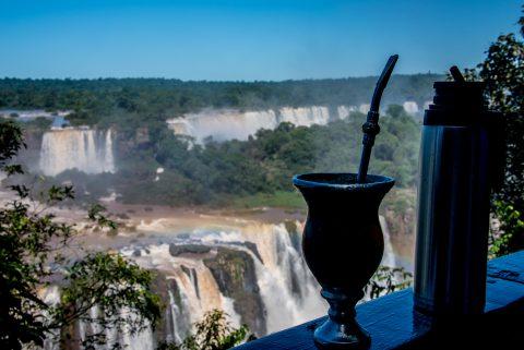 Mata cup, Iguazu Falls from Brazil