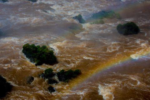 Iguazu Falls from Brazil