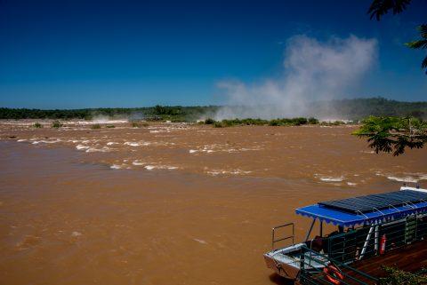 Garganta del Diablo, Iguazu Falls from Brazil