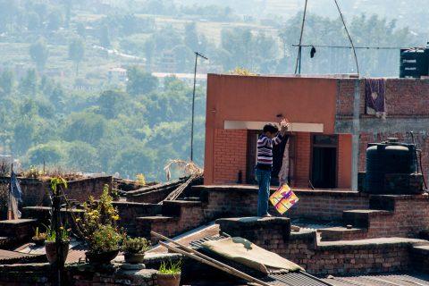 Bhaktapur roof tops, Nepal