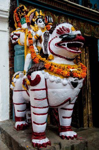 Royal Temple, Kathmandu, Nepal
