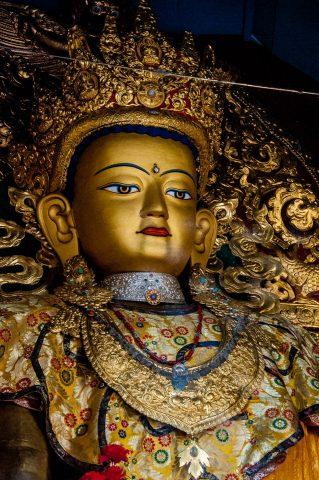Buddha, Swayambhunath, Kathmandu, Nepal